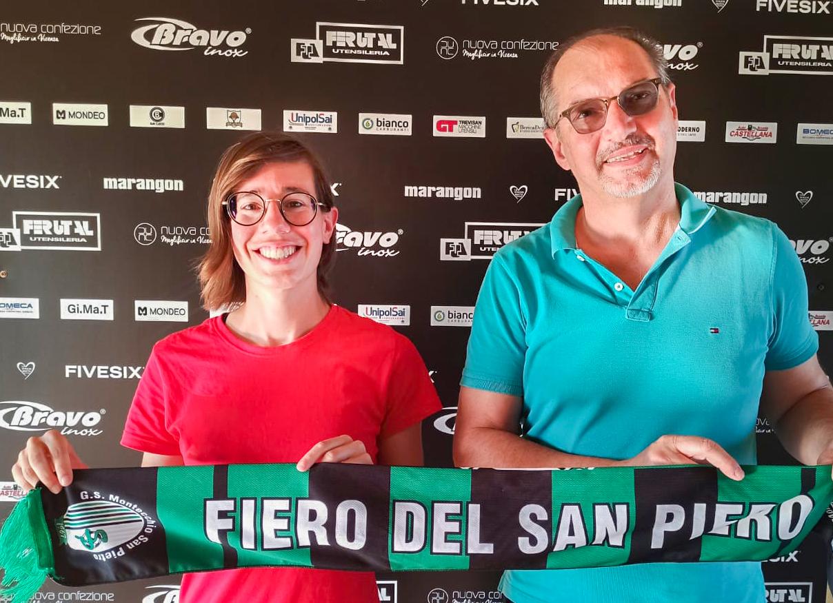 Chiara Dal Santo è la nuova preparatrice atletica del San Pietro!